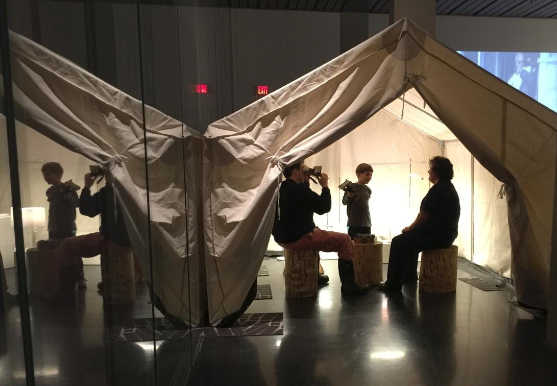 Reminiscence art installation